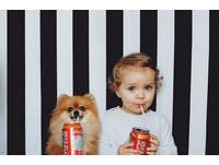 我們是世上最可愛的拍檔!俄羅斯小蘿莉與博美的超萌照