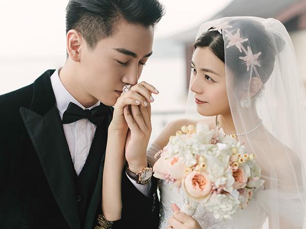 陳妍希❤陳曉結婚
