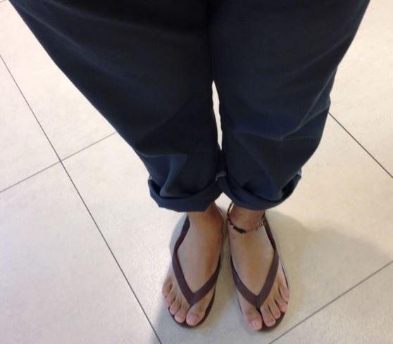 拖鞋,夾腳拖(圖/示意圖,非本文當事人。)