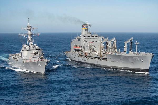 ▲▼美軍拉森號驅逐艦(USS Lassen (DDG 82))(圖/翻攝自拉森號臉書)