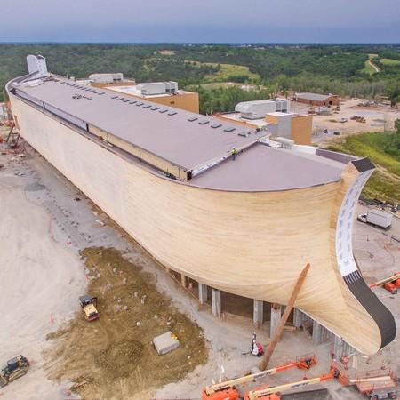 肯德基州出現挪亞方舟!150公尺巨船根據聖經記載圢造