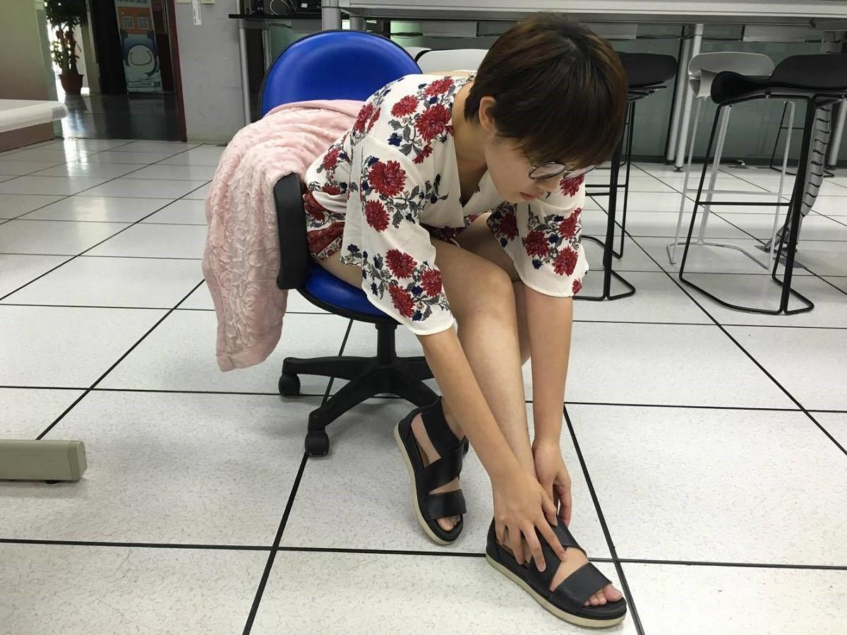 腳,腿。(示意圖/記者李佳蓉攝)