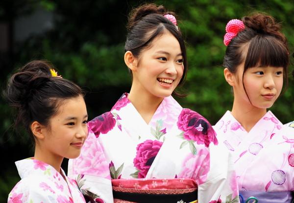 日本/夏祭/煙火/浴衣/櫻花妹。(圖/CFP)