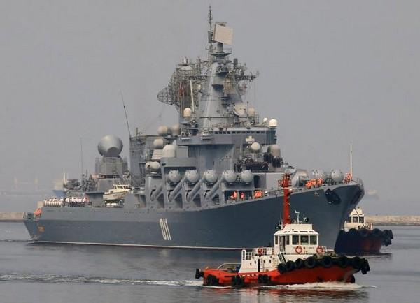 ▲俄羅斯海軍導彈巡洋艦「瓦良格號」。(Varyag)。(圖/路透社)