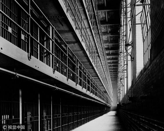 ▲監獄,黑白。(圖/CFP)