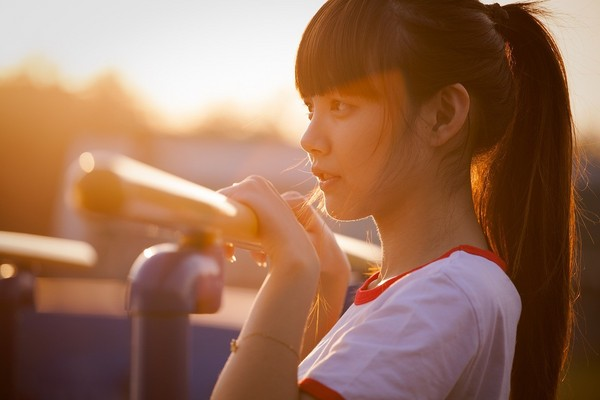 女生,女孩,瀏海。(圖/翻攝Pixbay)
