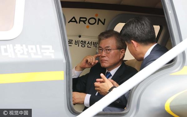 文在寅,南韓總統(圖/視覺中國CFP)
