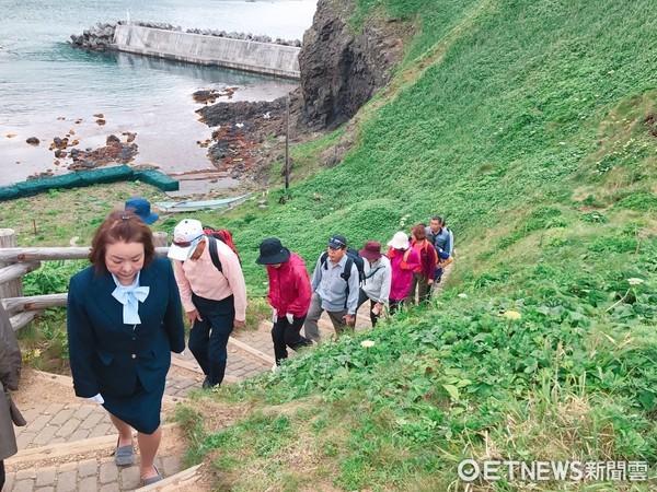 ▲日本最北端秘境小島,利尻島、禮文島。(圖/記者賴文萱攝)