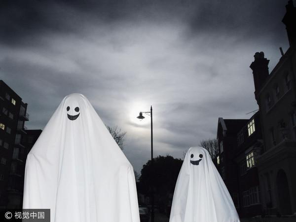 幽靈,鬼,萬聖節(圖/視覺中國CFP)
