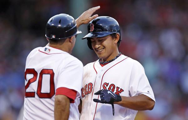 林子偉拚上大聯盟 《波士頓環球報》:努力獲得回報