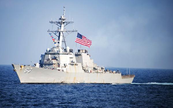 ▲▼美國海軍史塔森號驅逐艦,USS Stethem DDG 63。(。(圖/達志影像/美聯社)