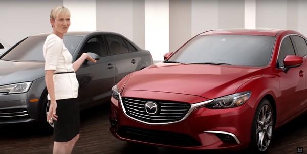 素人「盲測」馬自達6 評價竟技壓同場現身的奧迪與賓士?(圖/翻攝自Mazda)