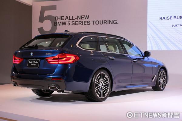 ▲有空間有操控!BMW 5系列旅行車來了 好爸爸最愛。(圖/記者張慶輝攝)
