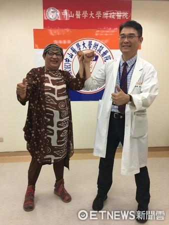 大學退休師花2百萬買偏方,乳癌大如碗公!(圖/中山附醫提供)