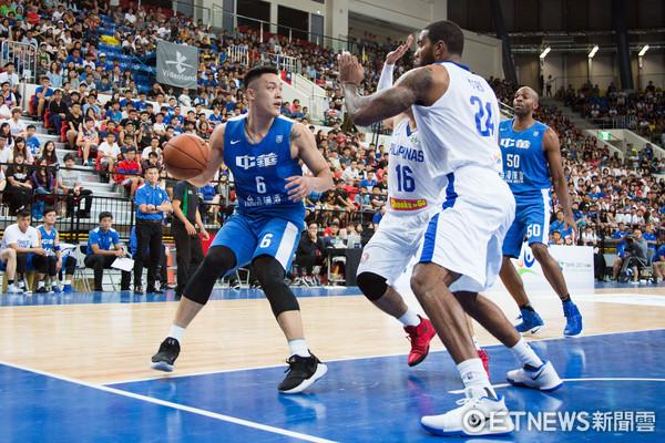 ▲▼瓊斯盃男籃,中華藍對菲律賓,周儀翔。(圖/記者季相儒攝)