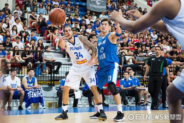 ▲▼瓊斯盃男籃,中華藍對菲律賓,34號 史坦哈汀格。(圖/記者季相儒攝)