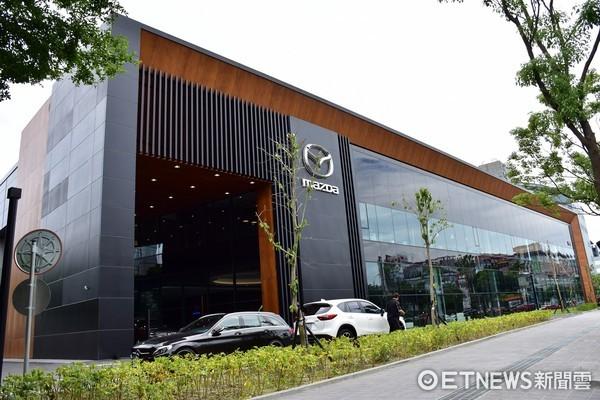 全球最大展間在台灣!馬自達內湖旗艦展示中心盛大開幕(圖/記者游鎧丞攝)