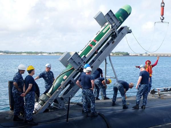 ▲▼Mk-48 ADCAP先進重型魚雷。(圖/翻攝自seaforces.org) http://www.seaforces.org/wpnsys/SUBMARINE/Mk-48-torpedo.htm