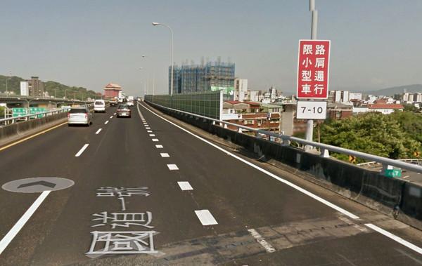 ▲國道「開放行駛路肩」被舉發 爆料取暖反被打臉!。(圖/翻攝自Google Maps)