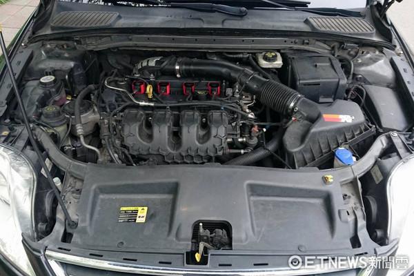 ▲汽車,引擎,引擎室,修車,保養。(圖/記者張慶輝攝)