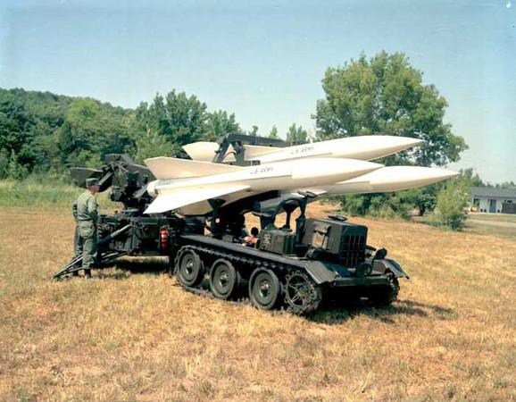 雷神公司所生產的MIM-23鷹式飛彈,是美國中距離地對空飛彈。(圖/翻攝自維基百科)