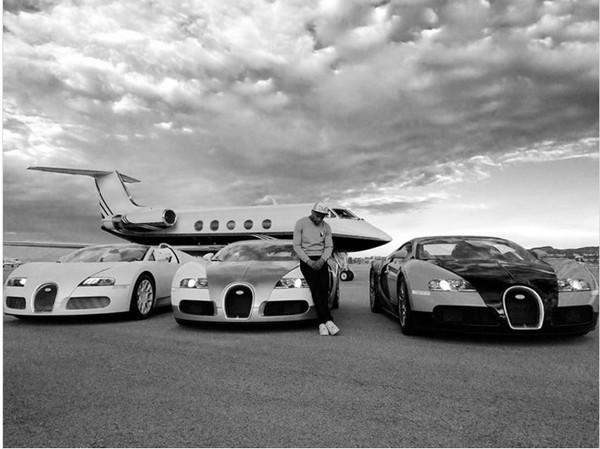 錢多到淹腳目!拳王梅威瑟的養車成本高到嚇死人(圖/翻攝自Instagram)