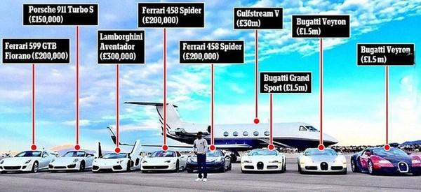 錢多到淹腳目!拳王梅威瑟的養車成本高到嚇死人(圖/翻攝自Carscoops)