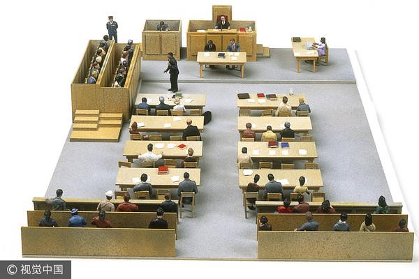 ▲法庭,陪審團。(圖/視覺中國CFP)