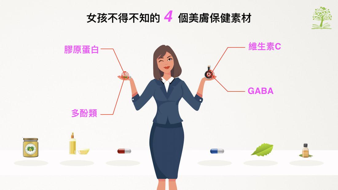 女生不得不知的四個美膚保健素材,好食課一次解析讓你看懂!(圖/好食課提供)