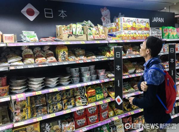 ▲日本食品,核食,食安,反核。(圖/記者張一中攝)