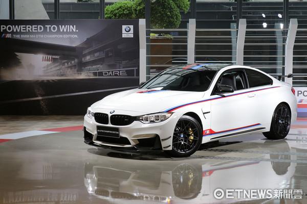 ▲200分之1的榮耀!BMW M4 DTM冠軍限定版登台。(圖/記者張慶輝攝)