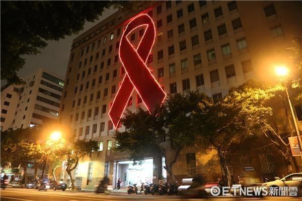 愛滋點燈,愛滋病,AIDS,疾管署。(圖/疾管署提供)