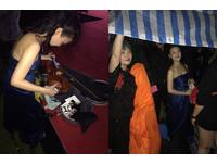 國慶丟包演奏家淋雨!小提琴泡水…「美女首席」痛心中途離場