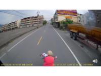 「阿嬤騎士」玩命急停攔大車!影片曝光…被轟替子女賺棺材本