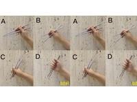 您拿筷子會翹食指嗎?「4種用法」影片瘋傳 網笑噴:D是殺人吧