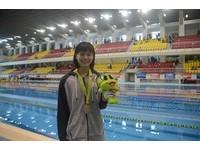 泳世巡賽北京站 天才少女林姵彣3度刷新全國紀錄
