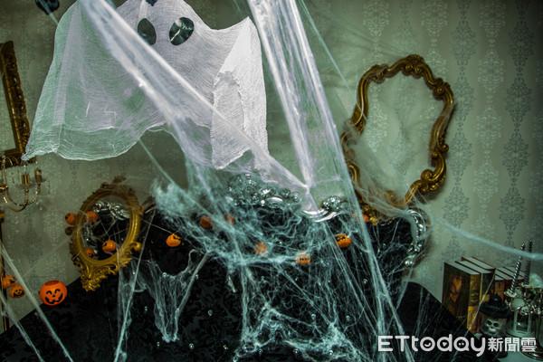 ▲萬聖節,萬聖夜,Halloween,骷髏頭。(圖/記者林世文攝)