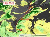 快訊/位於「暖濕水氣帶」!北北基宜花大雨特報 全台11級強風