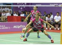 印尼大師賽/台將4組男雙 全數首輪過關闖16強