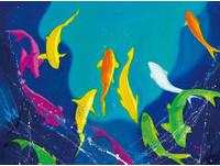 旅英野生藝術家優席夫《在海與大地之間》召喚生命的自由