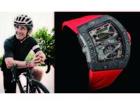 RICHARD MILLE ALAIN PROST 陀飛輪腕錶限量發行30枚