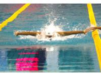 泳世巡賽/黃硯歆100公尺混合式預賽第8 締造全國紀錄