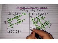 「畫線算數」超神奇!日式乘法教學影片 9700萬次觀看急分享