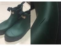 買名牌雨鞋2年龜裂…他PO文怒沒維修服務 慘被網友反酸奧客