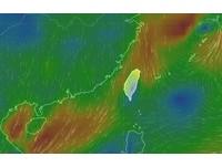 快訊/北北基宜深夜「大雨特報」 北台一整天濕涼低溫16度