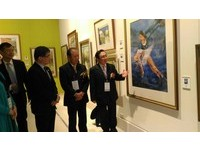台日水彩畫會交流展開幕 台灣50年水彩畫會的創新局面