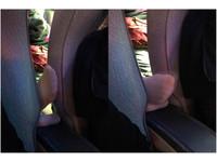 大媽搭客運「夾縫中饋咖」好爽 粉紅腳狂戳...惹怒女乘客