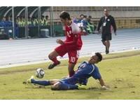 國邀賽/中華男足後防線更硬 硬剷菲律賓吞3黃牌懷特叫好