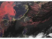 氣象局衛星雲圖新增「真實色」 疊加影像類似肉眼所見!