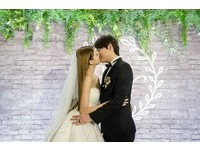 「我們每天就是一直親吻、擁抱」 名模賴琳恩日常感性感婚紗